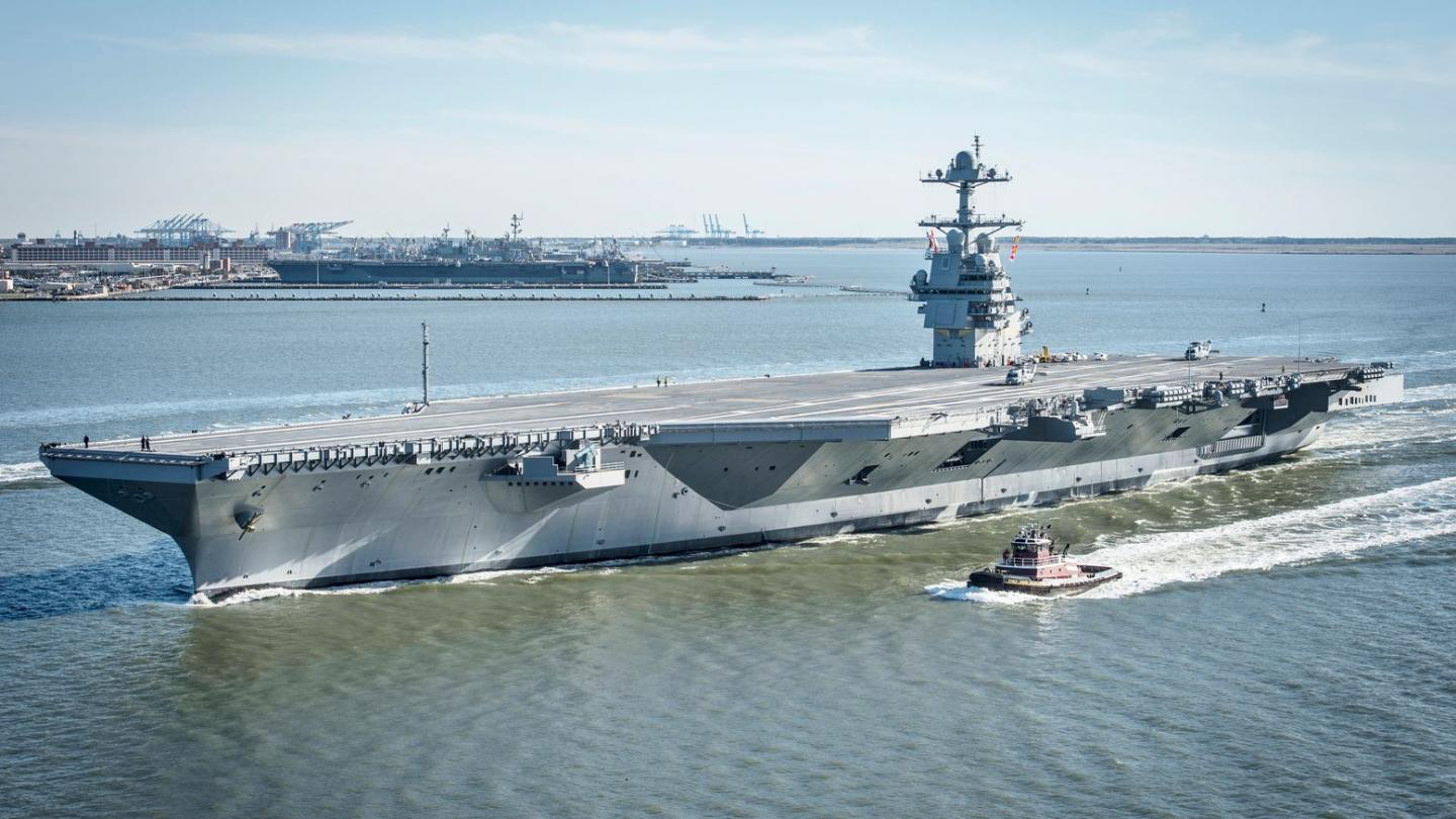 Why No Enemy Would Dare Sink a U.S. Navy Aircraft Carrier