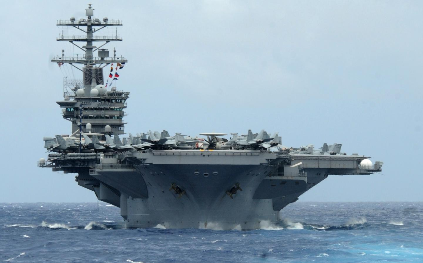 Imagine If Russia and China Built Nuclear-Powered Aircraft Carriers Together