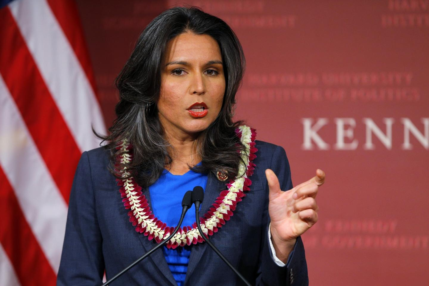 Tulsi Gabbard Accuses MSNBC Anchor Of Being Fed Talking Points By Harris's Team