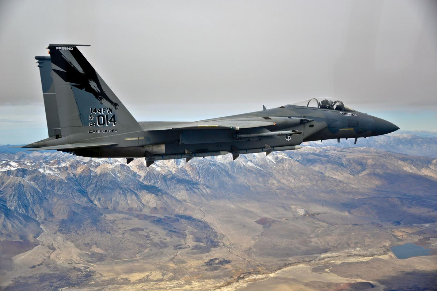 Americas Own Decepticon Starscream F-15 Is Ready to Do Battle with Iran