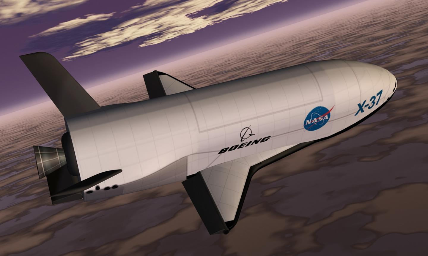 Photographed: The U.S. Air Force's Secretive Robot X-37B Space Shuttle