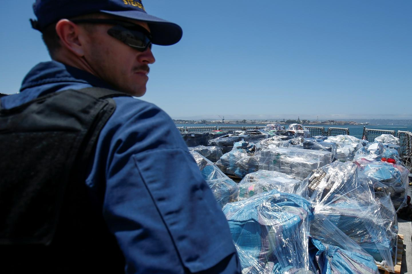 Coast Guard Seizes 26,000 Pounds Of Cocaine In The Pacific Ocean