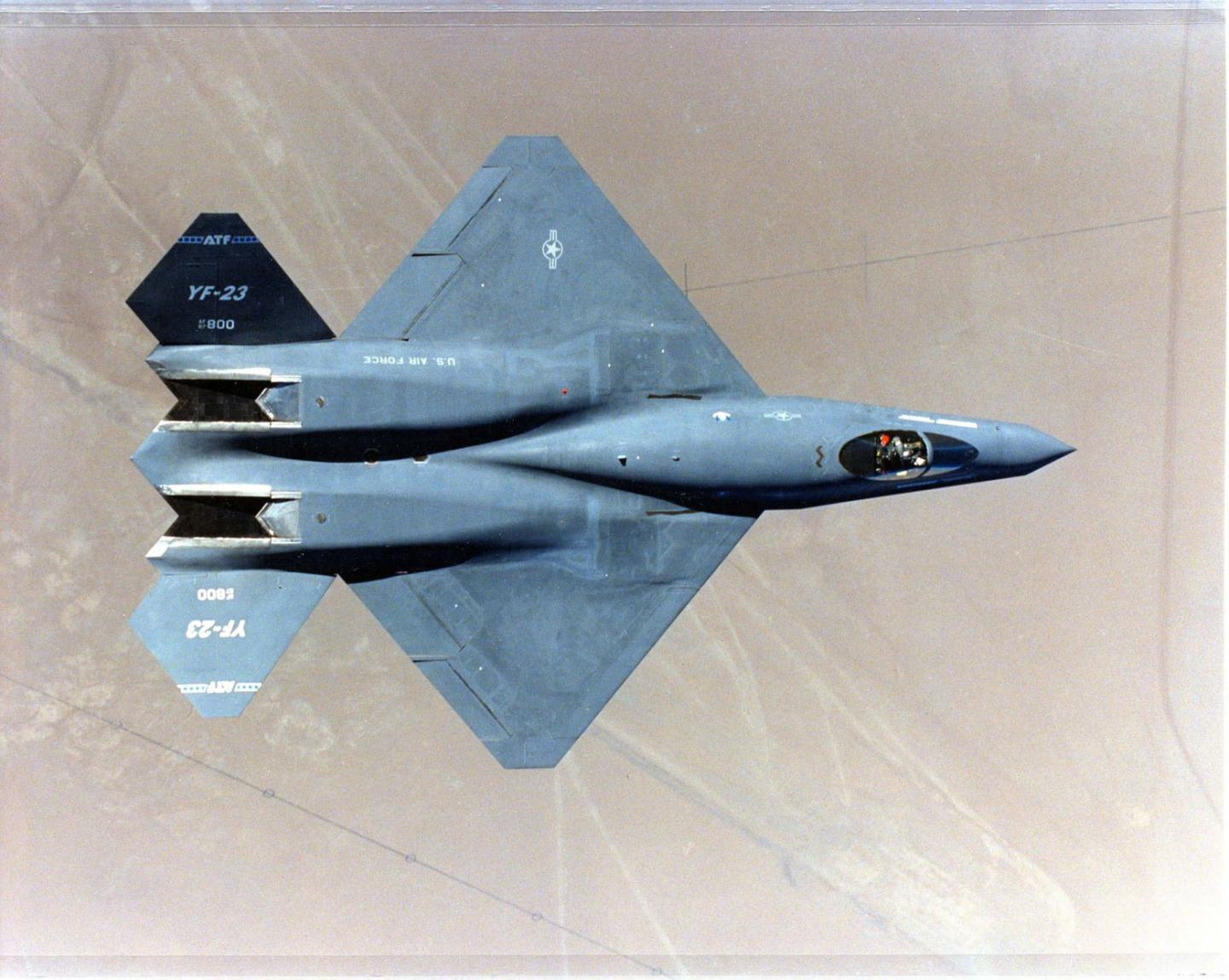 Meet the YF-23 Black Widow II: The Stealth Fighter That America Passed On