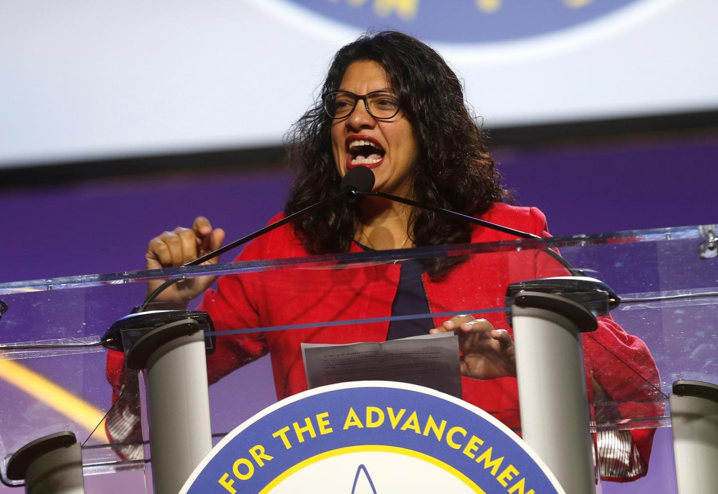 Rep. Tlaib Compares BDS Movement Against Israel To U.S. Boycotting Nazi Germany