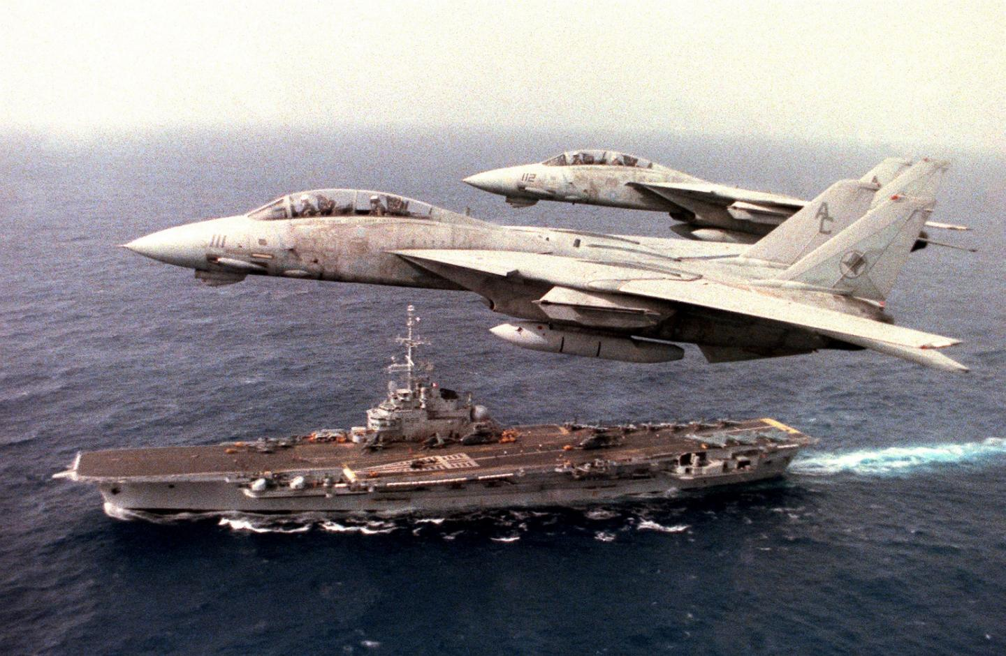This Is the Story of the Longest Serving F-14 Tomcat in U.S. Navy History