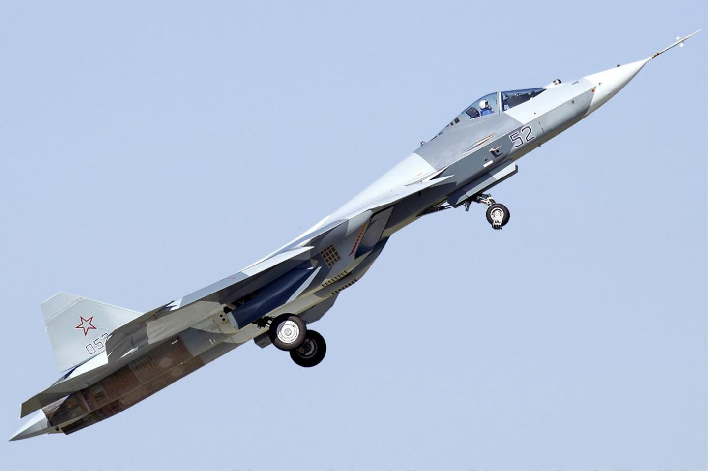 Why Russia Flew Half of Its Su-57 Fighters (And It's Not What You Think)