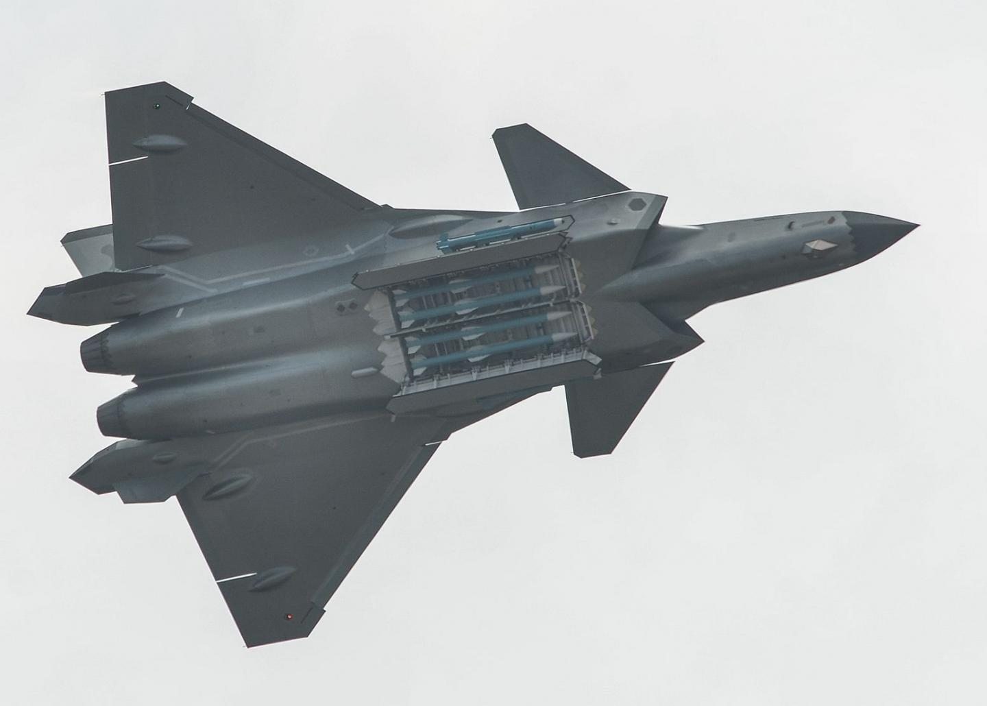 Technological Theft: Chinas J-20 Stealth Fighter Has American DNA