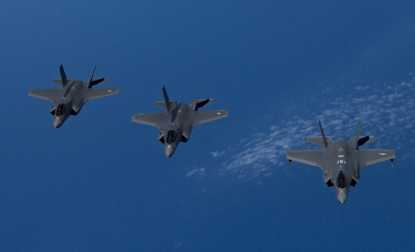 Wargames: This Amazing Picture Shows F-35s Doing Something Only F-35s Can Do