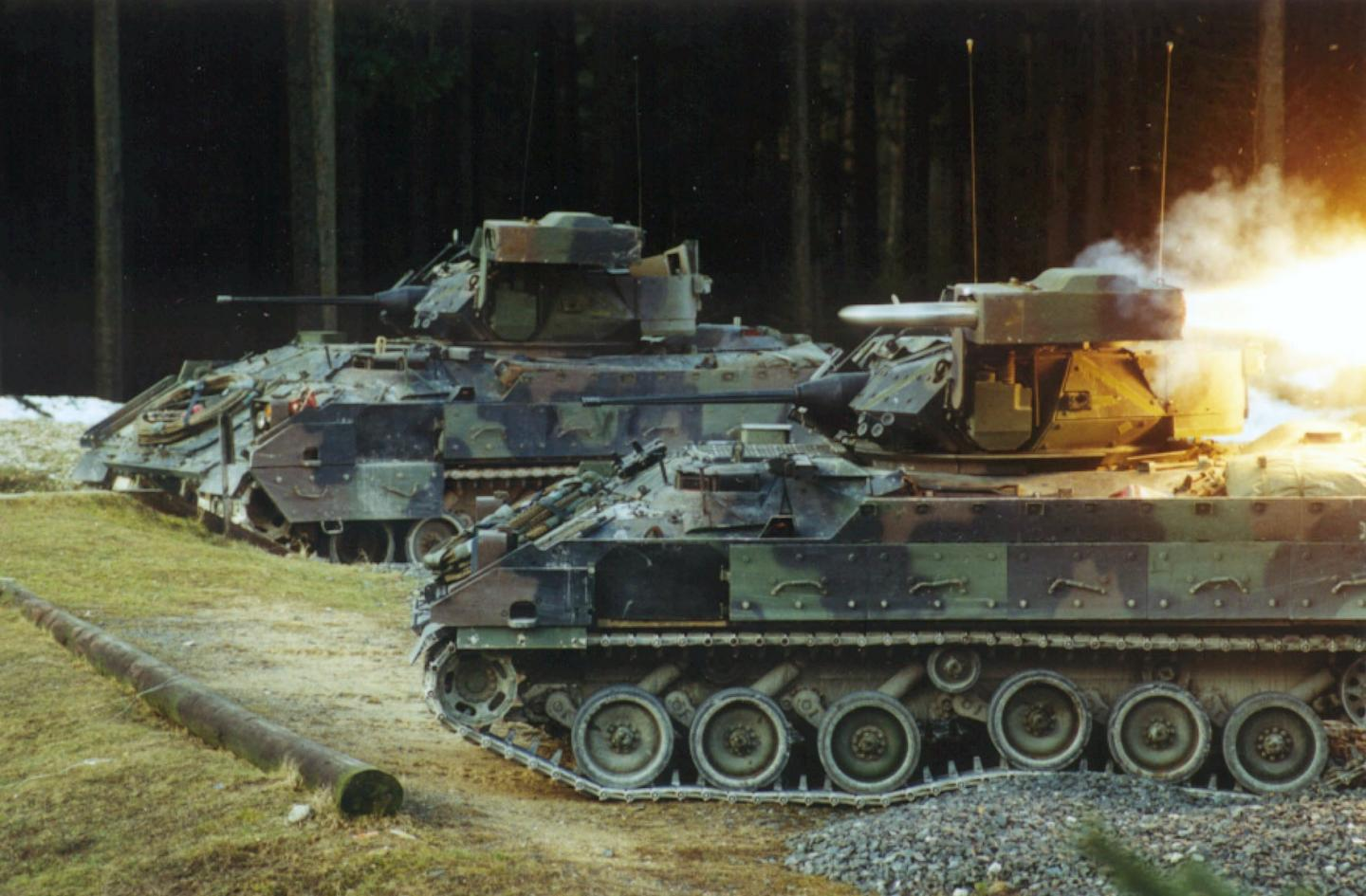 Army Soldiers Will Use Special M-2 Bradley Infantry Fighting Vehicle to Control Robots