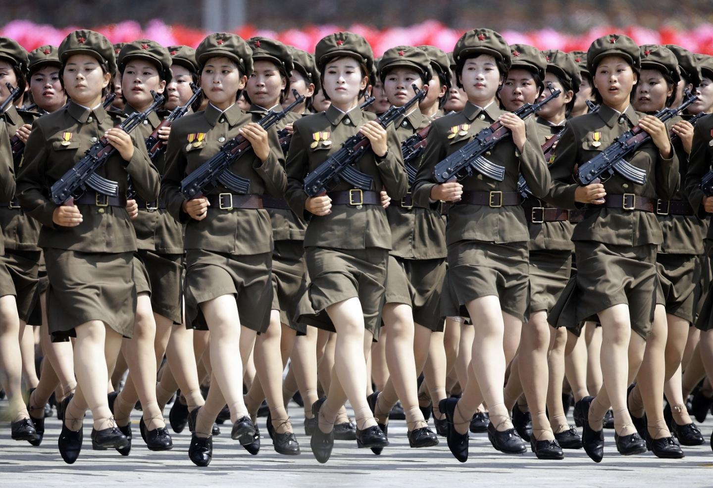 This 1 Picture Should Terrify the Army and Marines: 1 Million North Korean Soliders