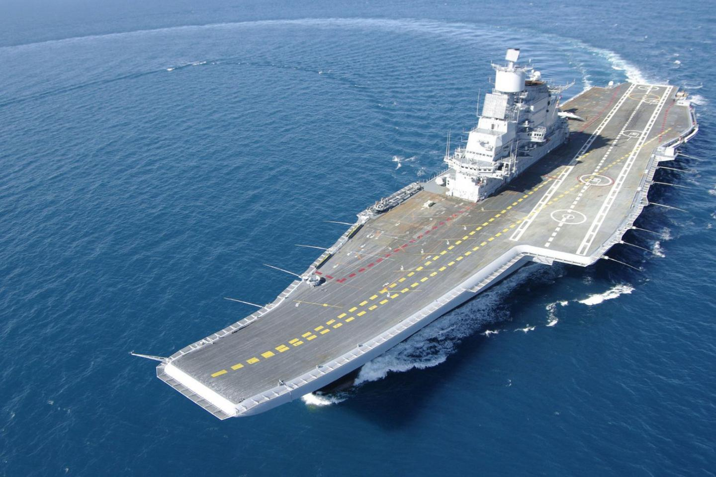 China Claims It Knows What Caused the Fire Outbreak on Indias Aircraft Carrier