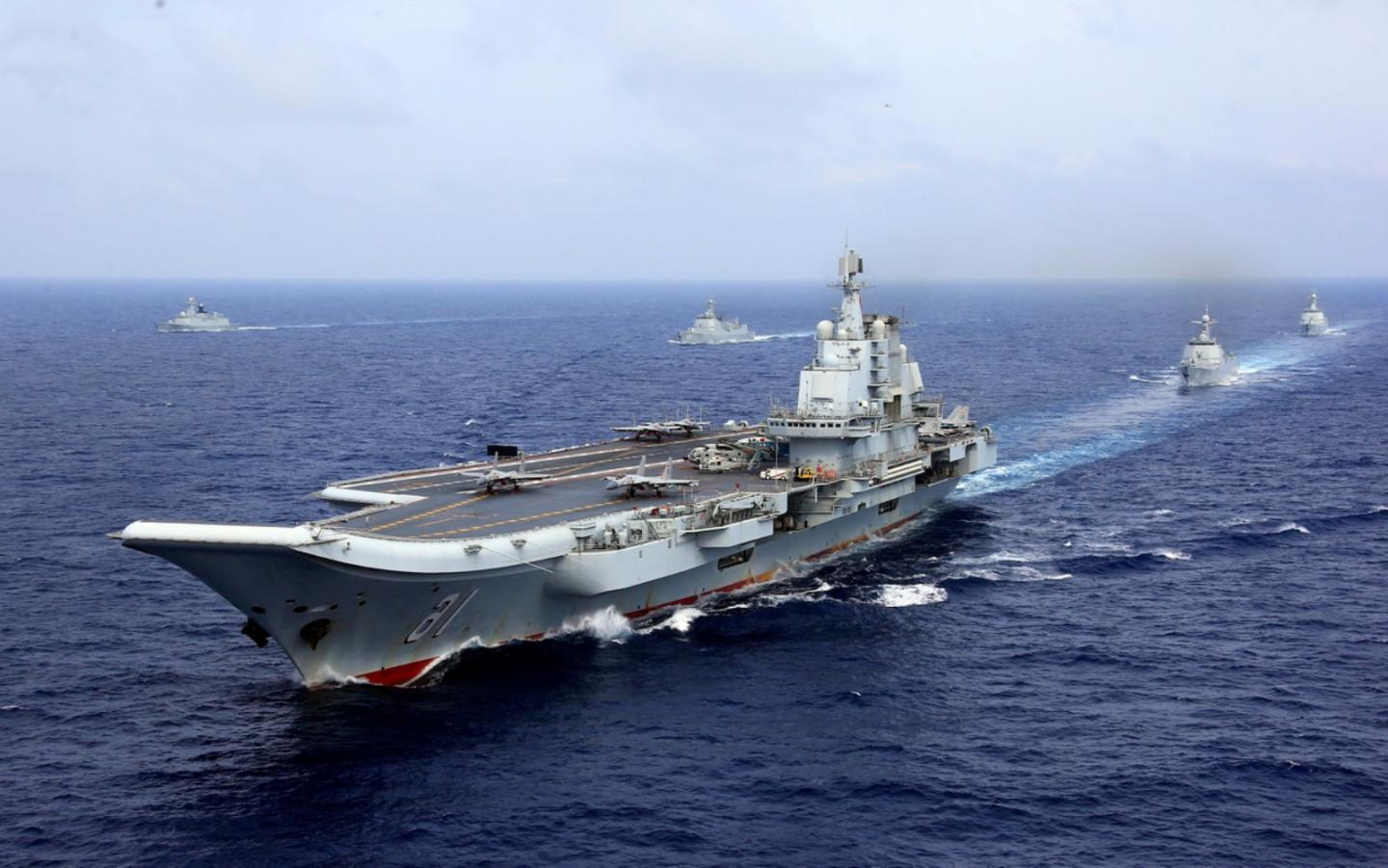 Chinas Navy is Going Blue Water (Starting With 6 Aircraft Carriers)