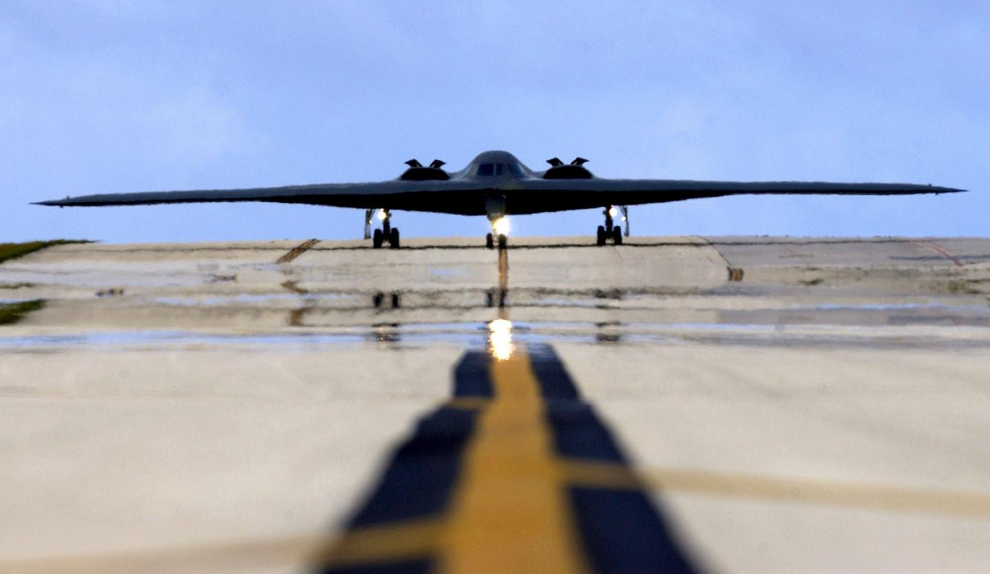 Top Secret: We Can Now Show You Inside the Cockpit of a B-2 Stealth Bomber