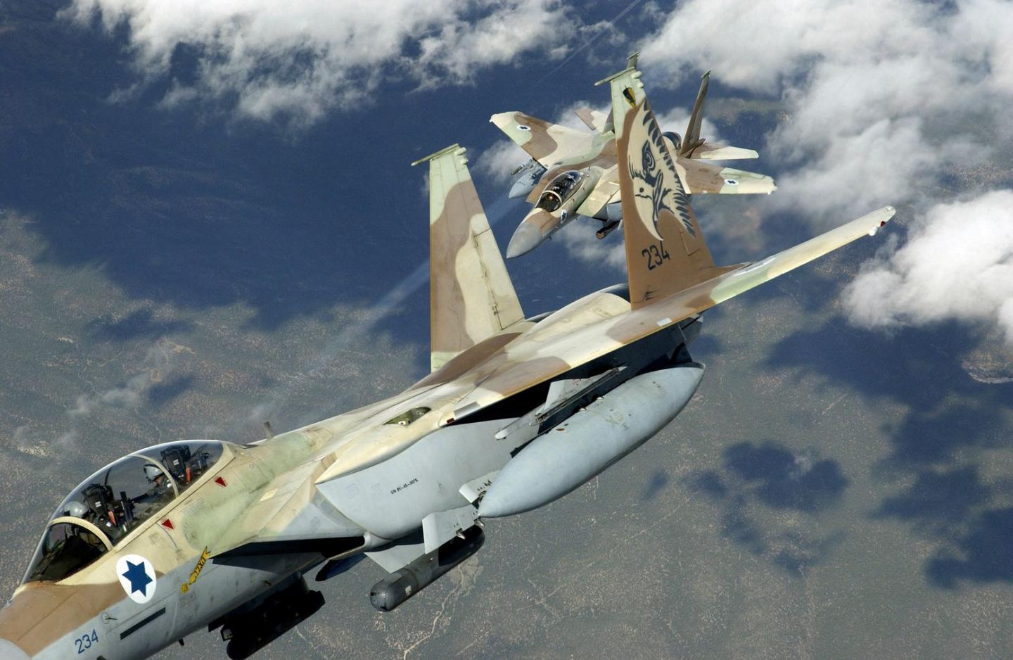 Fact: U.S. and Israeli F-15s Went to War in a Simulated Fight. Who Won?