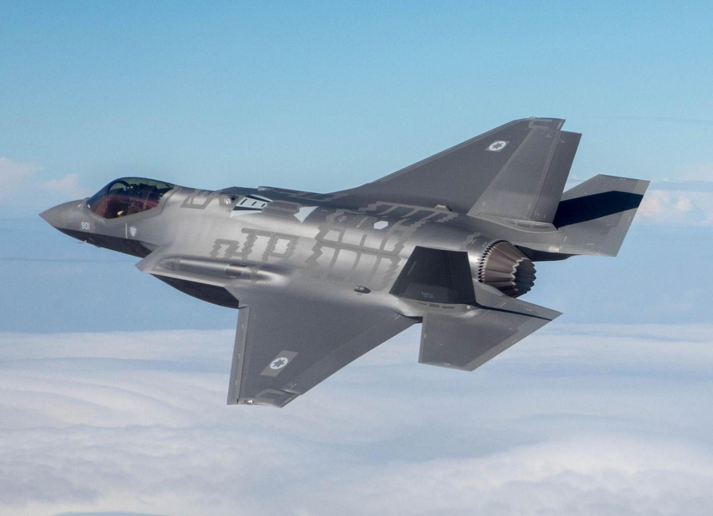 Stealth Rules: Israels F-35I Adir Is the First to Attack an Enemy