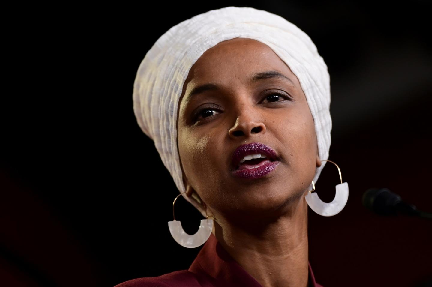Voice Of America Ignores Reasons For Trump's Criticism Of Rep. Ilhan Omar