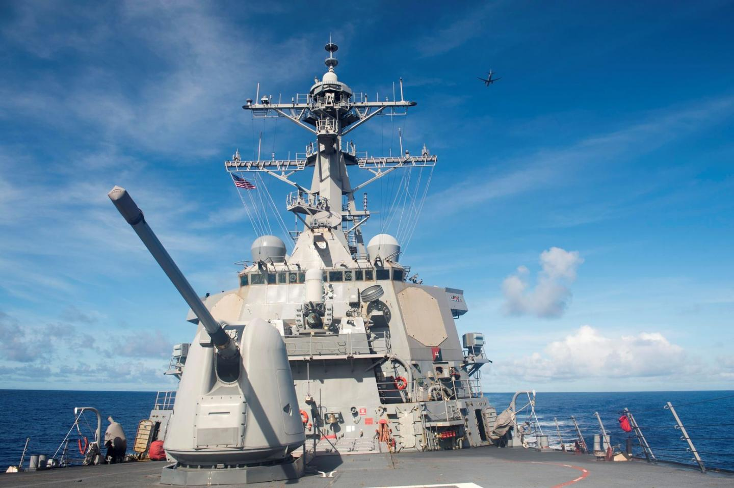 Cat and Mouse: A U.S. Destroyer Shadowed a Russian Warship in the Caribbean