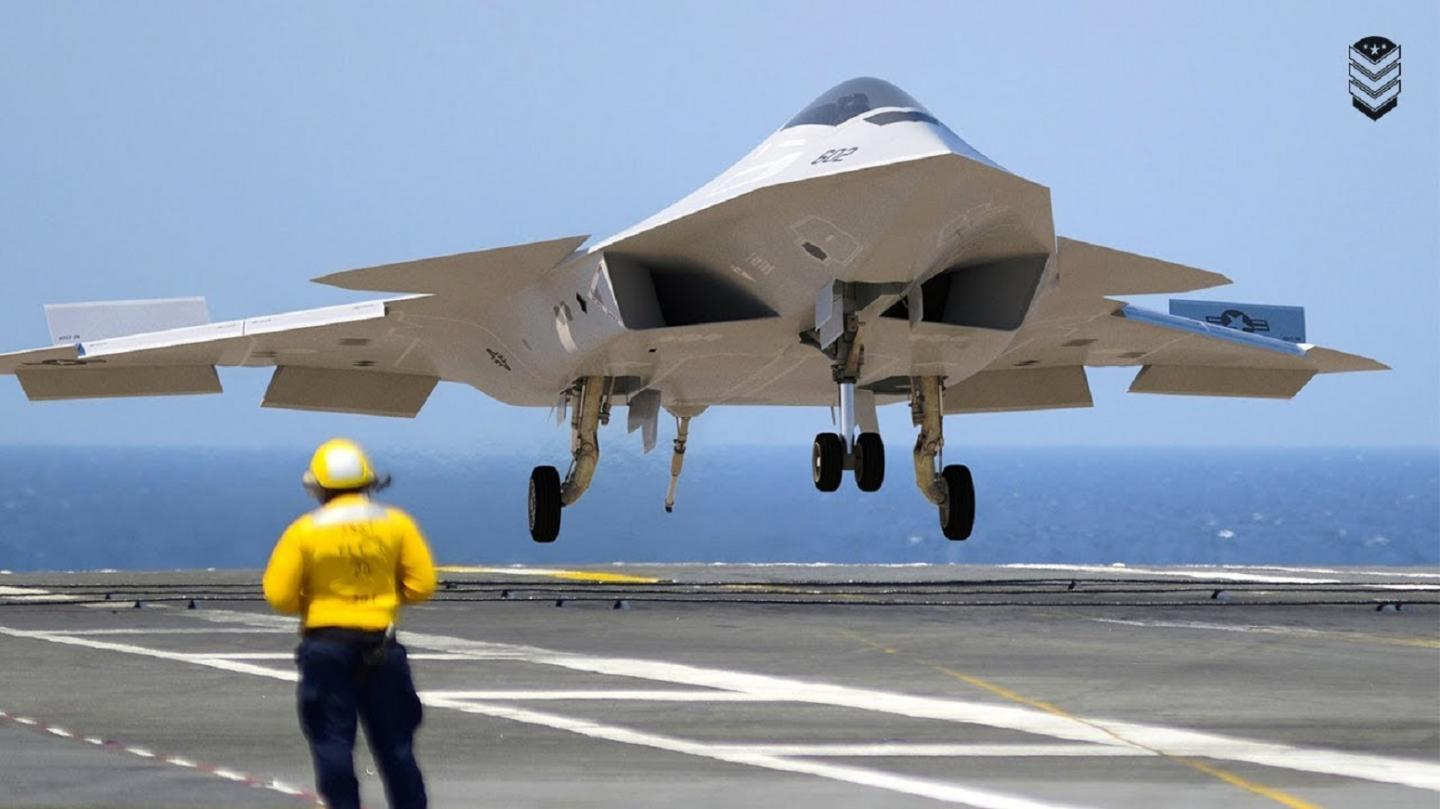 The Navys 6th Generation Fighter Could Put the F-35 in a Museum