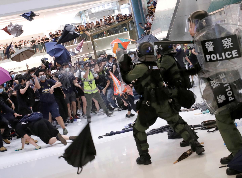 Hong Kong Enters Chinas Danger Zone