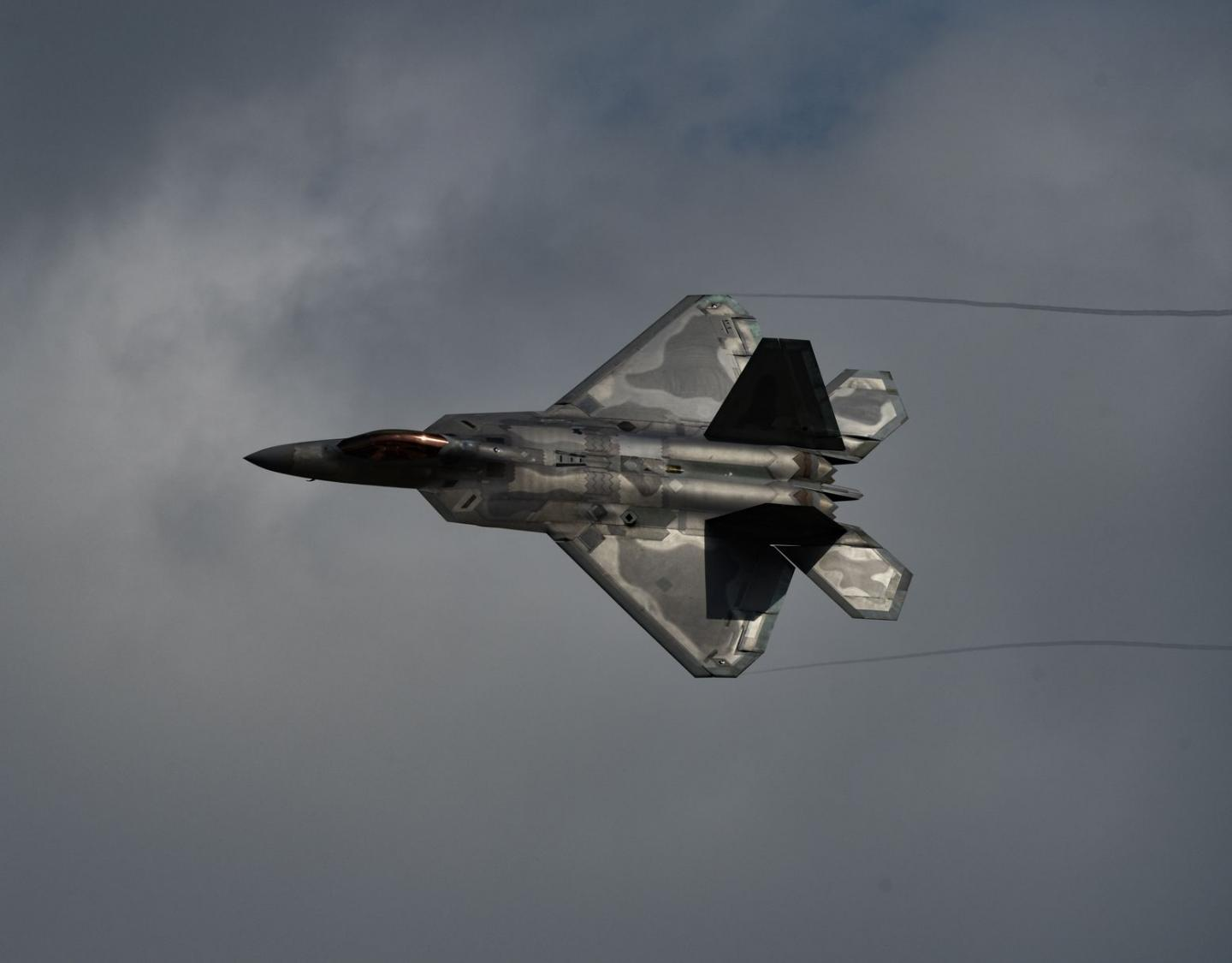 The Air Force Has Sent Stealth F-22 Raptors to Qatar to Deter Iran