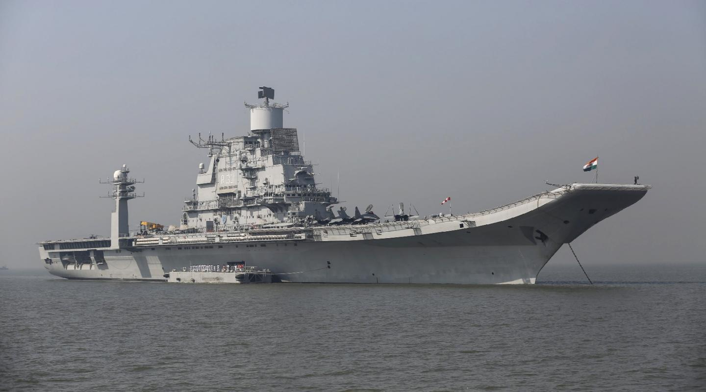 Indias Aircraft Carrier Caught On Fire. China Thinks It Knows Why