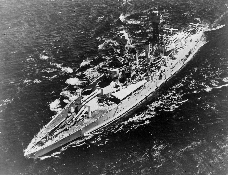 The Battleship USS Maryland Had One Mission: Kill Other Battleships