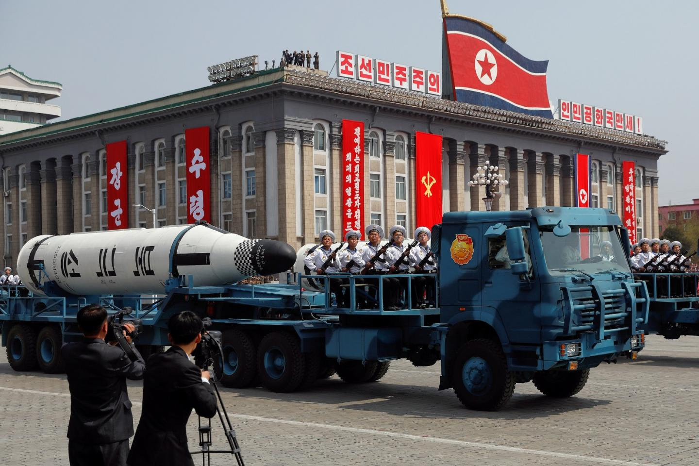 How North Korea Could Launch a Nuclear War from the Sea