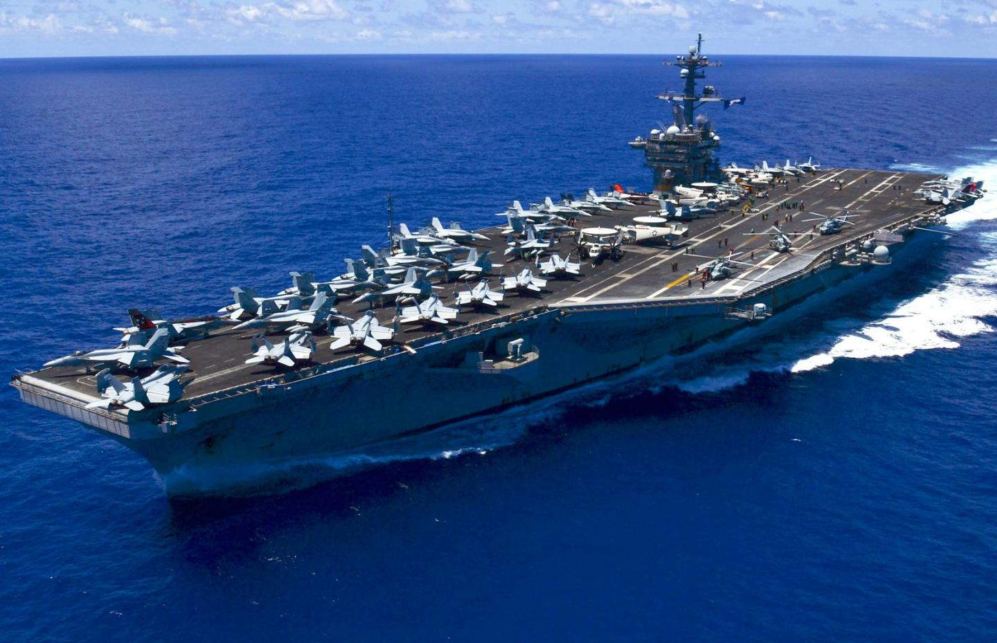 Middle East War: How Iran Could Attack the U.S. Navys Aircraft Carriers