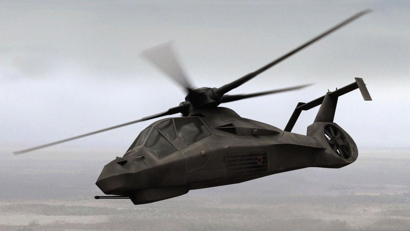 See How the Armys Would-Be Stealth Helicopter Borrowed from the F-35