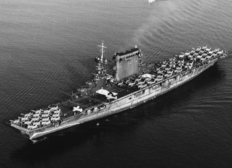 How the U.S. Navy Took a Battlecruiser and Made It Into an Aircraft Carrier