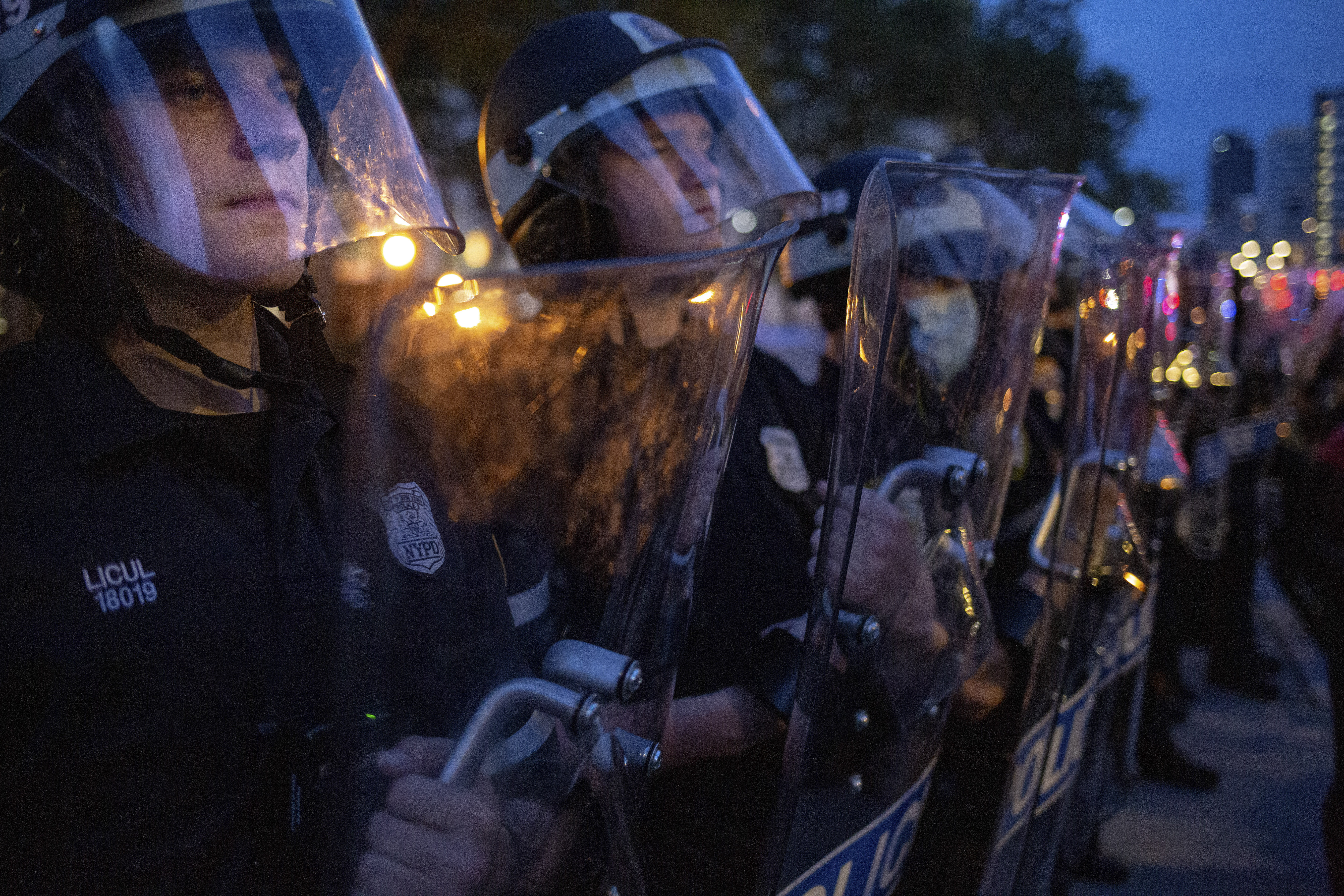 Kettling of Peaceful Protesters Shows Aggressive Shift by New York Police