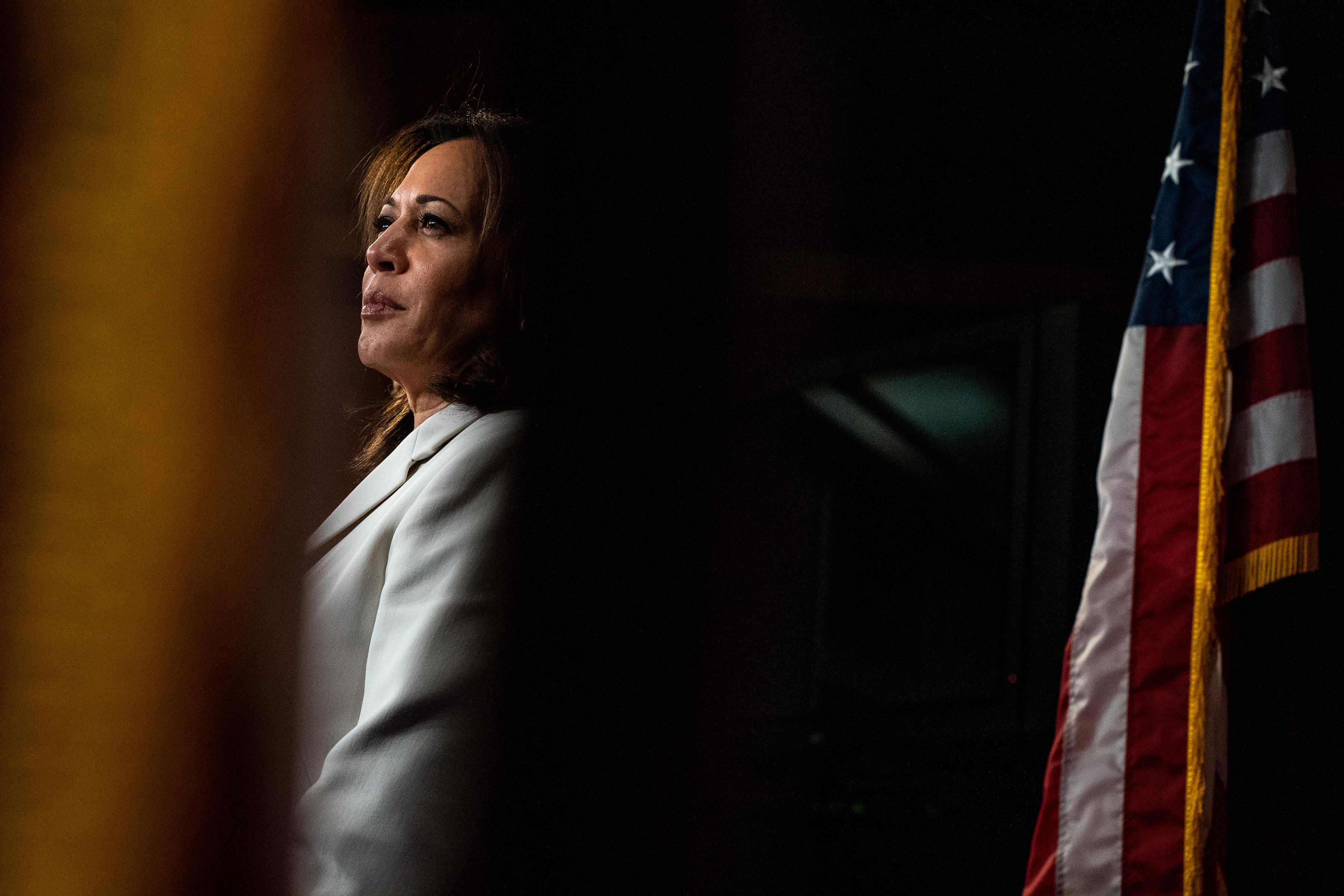 Kamala Harris Is Said to Be Weighing an Endorsement of Joe Biden