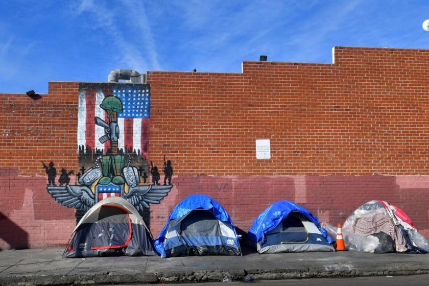 California drives U.S. homelessness increase