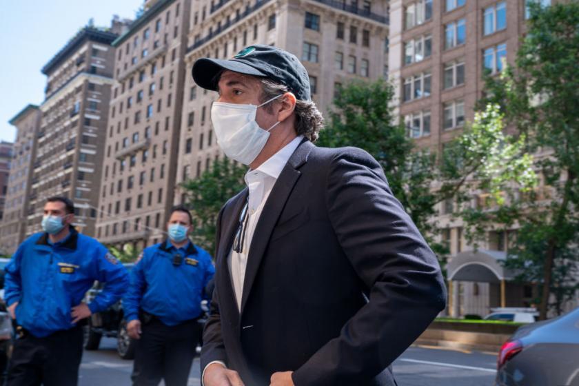 Michael Cohen is suing Attorney General William Barr for retaliation