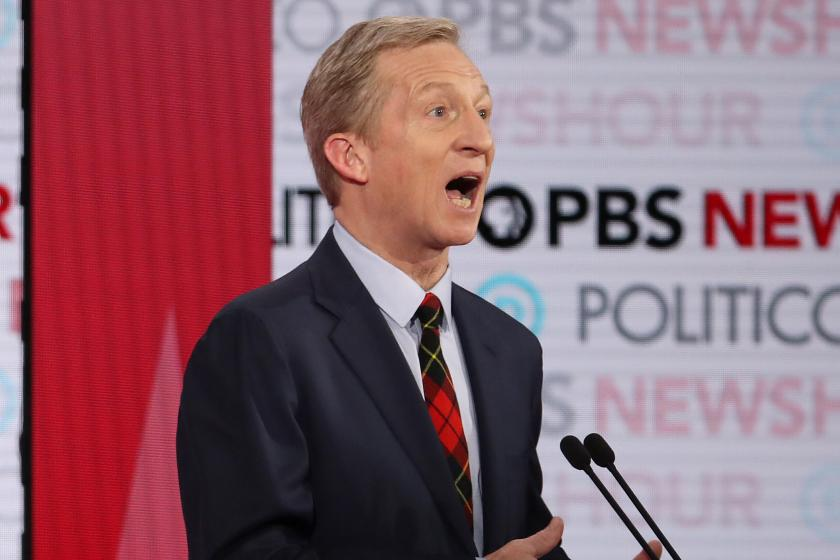 Tom Steyer had a rough endorsement interview with The New York Times
