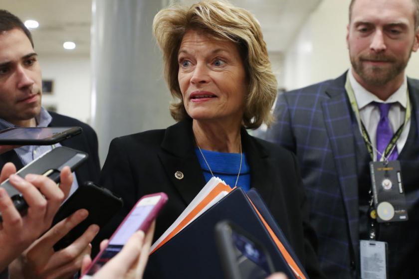 GOP Sen. Murkowski asks Trumps lawyers a pointed question about John Bolton