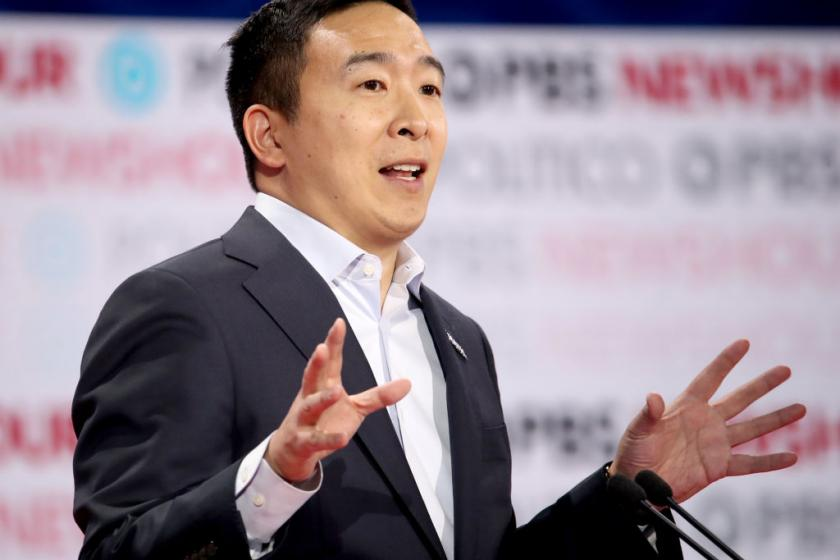 Andrew Yang has a simple idea for how the DNC can increase diversity at the next debate