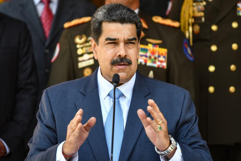 Venezuelas Nicolás Maduro reportedly charged by U.S. in drug trafficking scheme