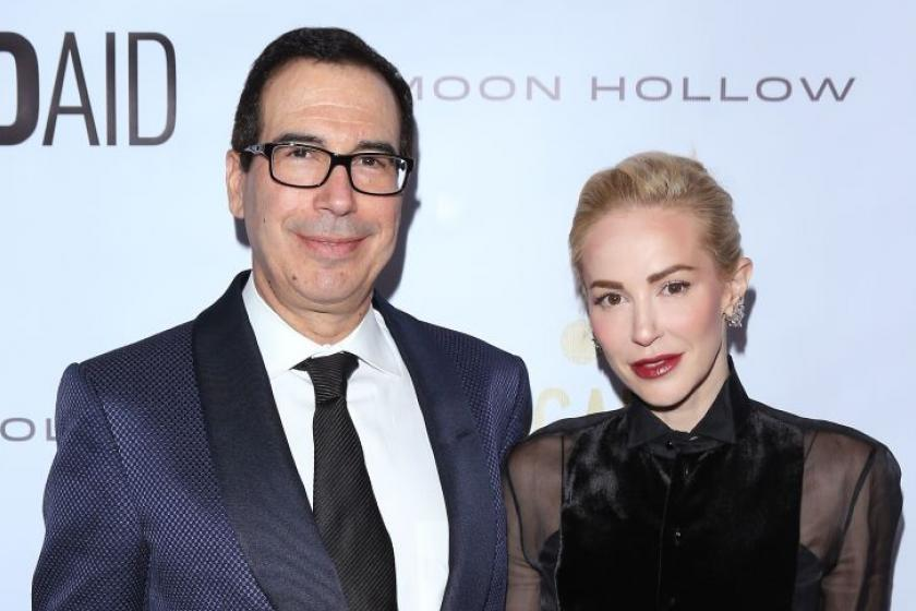 Steven Mnuchins wife, Louise Linton, sides with Greta Thunberg over her husband, deletes post