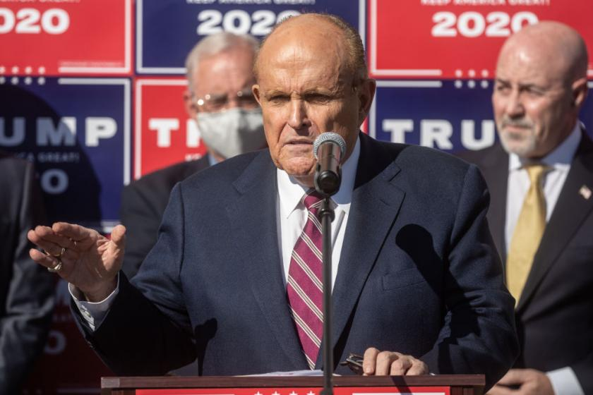 Advisers reportedly confounded by Trumps decision to let Giuliani run election legal efforts