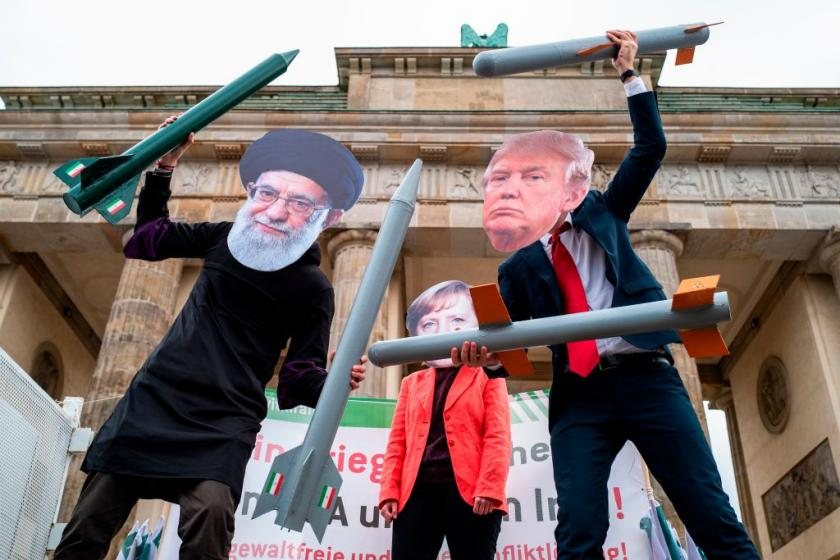 Irans supreme leader slams clown Trump, says Irans missile strikes showed the hand of God