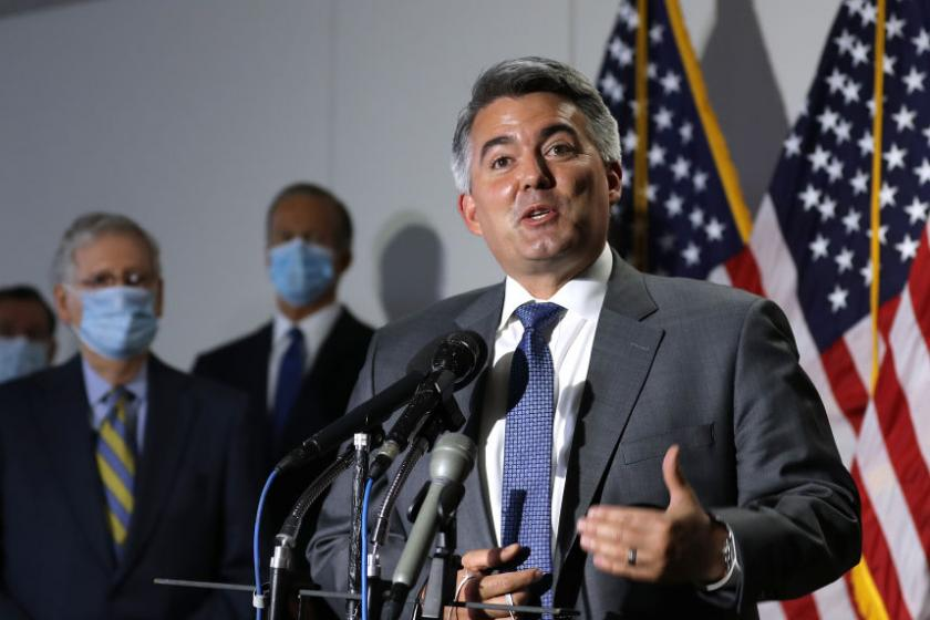 GOP Sen. Cory Gardner stayed mum on meatpacking coronavirus outbreaks as he received industry donations