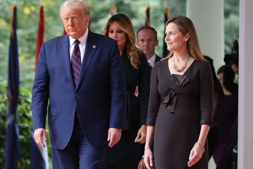 Trump and McConnell are reportedly already discussing Amy Coney Barretts 7th Circuit replacement