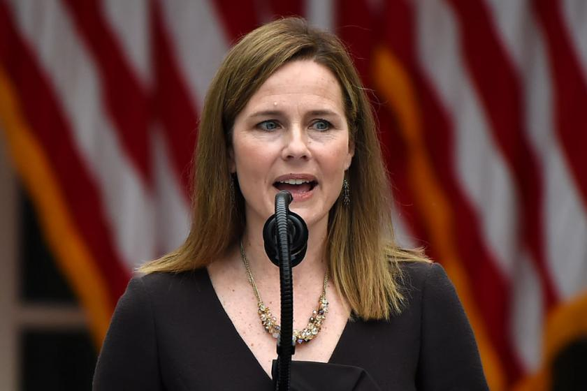 Amy Coney Barrett didnt disclose 2 talks with anti-abortion groups to the Senate