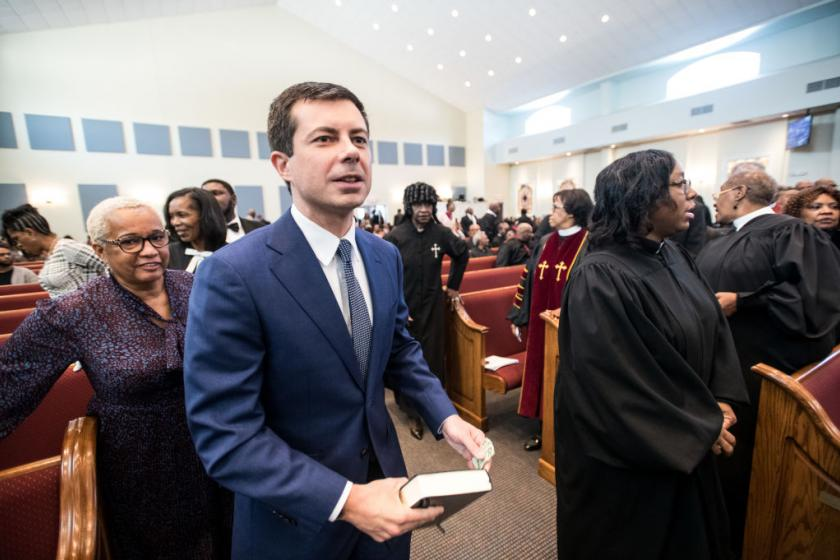 Pete Buttigiegs Christmas tweet inadvertently sparked a war over whether Jesus was a poor refugee