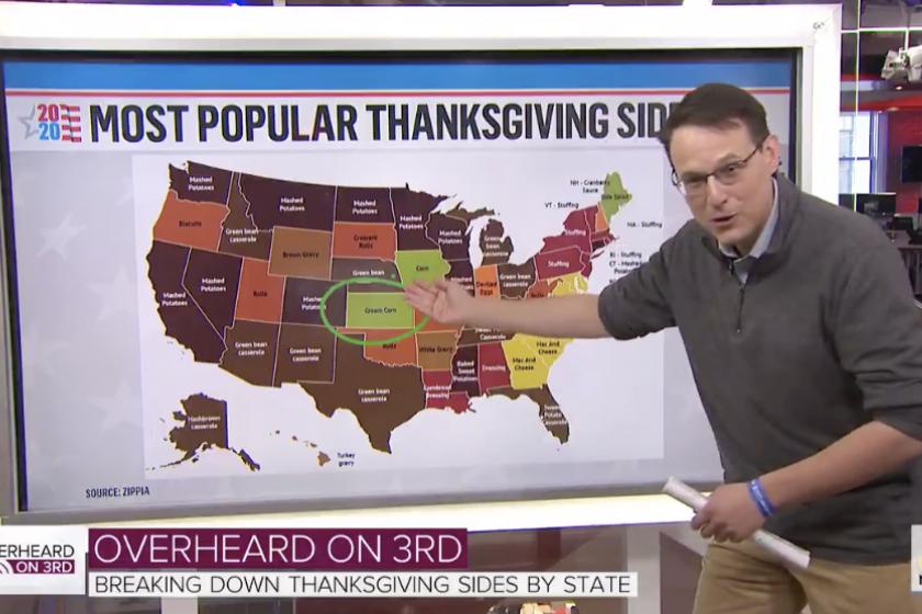 MSNBCs election guru Steve Kornacki has moved on to analyzing Thanksgiving