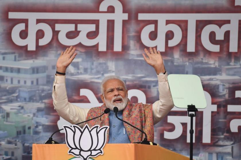 Indias Modi defends citizenship law