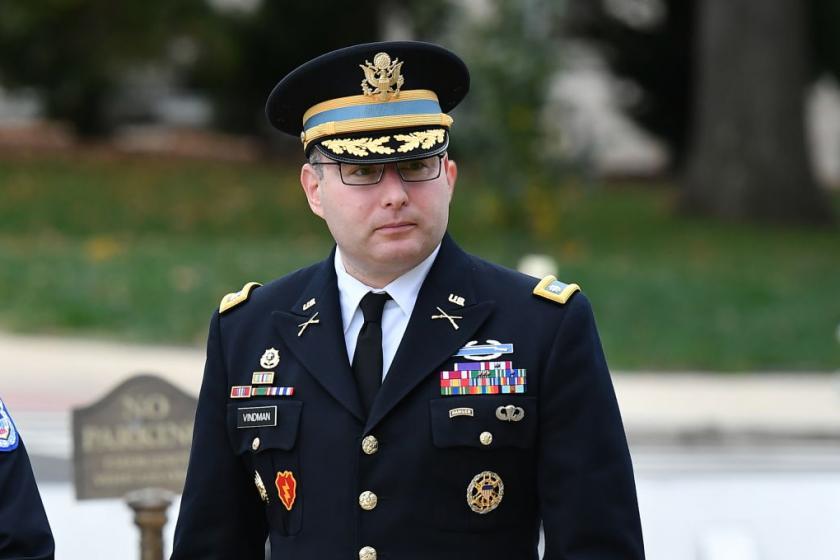Lt. Col. Vindmans attorney calls GOP Sen. Marsha Blackburns attack a testament to cowardice