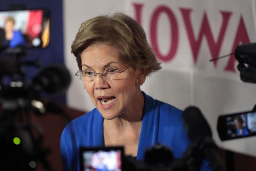 Elizabeth Warren once held campaign event at restaurant with wine vault