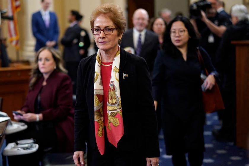 Former mafia prosecutor: It sounds like Trump associates were plotting a mob hit against Marie Yovanovitch